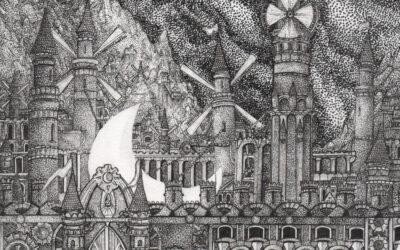 Le illustrazioni oniriche di Antoine Aizier