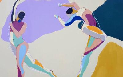 La forza del colore. Le figure femminili di Fipé Gouge-Merrall