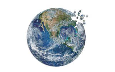 Il puzzle circolare della terra
