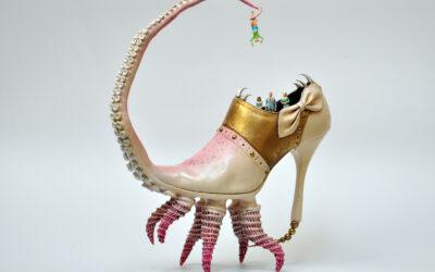 Scultura e meraviglioso. Le fantasy shoes di Costa Magarakis