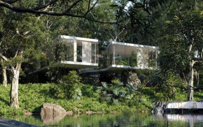 Una casa da sogno immersa nella foresta tropicale del Brasile