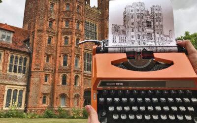 I disegni realizzati con macchine da scrivere di James Cook
