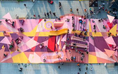 I grandi parco giochi metropolitani progettati da 100 Architects