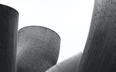 Foto minimaliste in bianco e nero