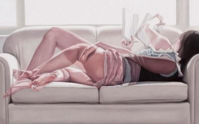 I dipinti a doppia esposizione di Horyon Lee