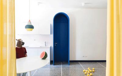 Il surreale appartamento romano progettato da La Macchina Studio