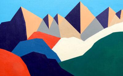 Le montagne grafiche di Séverine Dietrich