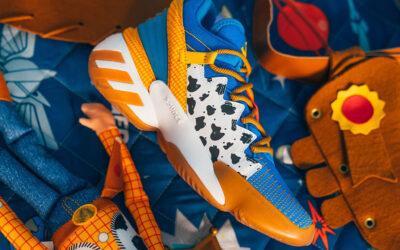 Le scarpe Adidas ispirate ai personaggi di Toy Story