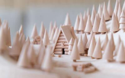 I piccoli mondi in legno di Thibaut Malet