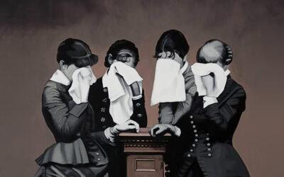 Dalla fotografia alla pittura, i ritratti di Cristina Toledo