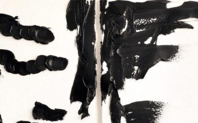 Wendoly Monteiro da Costa, la pittura della materia
