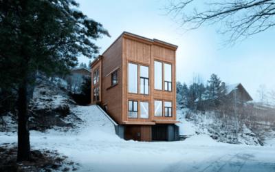 Una casa in legno nel cuore della Norvegia, Rever & Drage architects