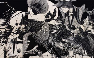 Le illustrazioni dark di Hiroko Shiina