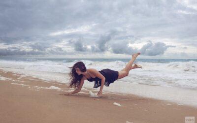 La leggerezza dello spirito quando siamo in spiaggia, Niko Photographisme