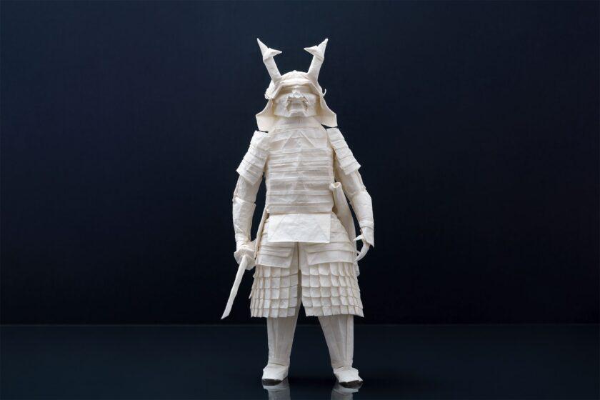 origami di un Samurai