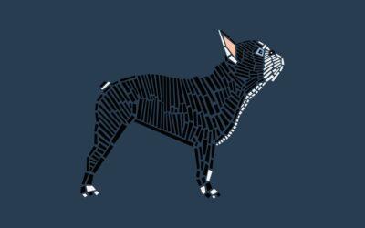 I cani grafici e minimal di Naomi Turco