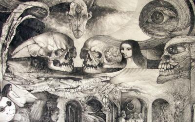 Misticismo e surrealtà, i disegni di Otto Rapp