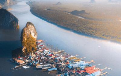 Ko Panyi, il villaggio galleggiante in Thailandia