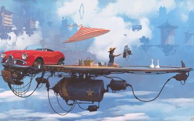 Universo Chatarra, il mondo immaginato dall'illustratore Alejandro Burdisio
