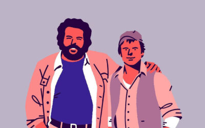 Le illustrazioni minimal dei film anni 80/90 di Damiano Stingone