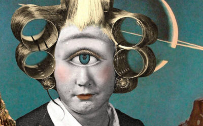 L'arte del nonsense, i collages di Julia Lillard