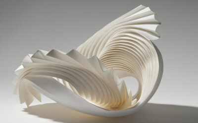 Le paper sculptures di Richard Sweeney