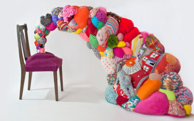 Le soft sculptures di Hoda Zarbaf
