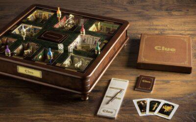 La versione di lusso del gioco Cluedo
