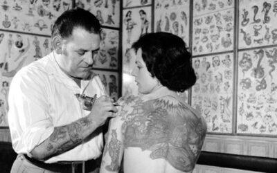 Testimonianze di tatuaggi femminili di inizio novecento