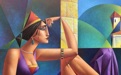 I dipinti neo-costruttivisti di Georgy Kurasov