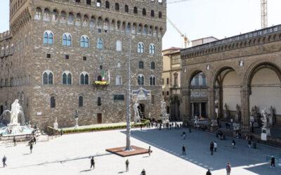 """Giuseppe Penone e il suo """"Abete"""" a Firenze a ricordo del divin poeta"""