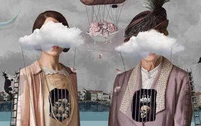 Il surrealismo vittoriano nei collage di Durmuş Bahar