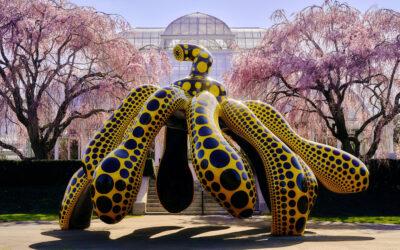 "Getting lost in a ""Cosmic Nature"". Yayoi Kusama al Botanical Garden di New York"