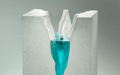 Splendidi mari sezionati nelle sculture di Ben Young