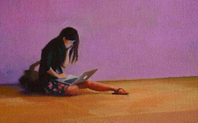 La solitudine contemporanea nella pittura di Nigel Van Wieck