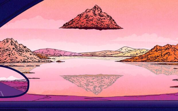 Le vivaci e colorate illustrazioni di Liam Cobb