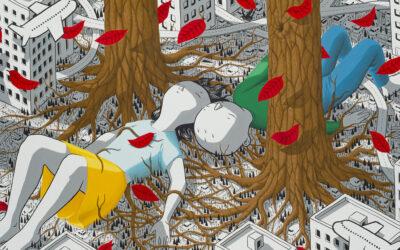 I sogni urbani dei personaggi dello street artist Millo