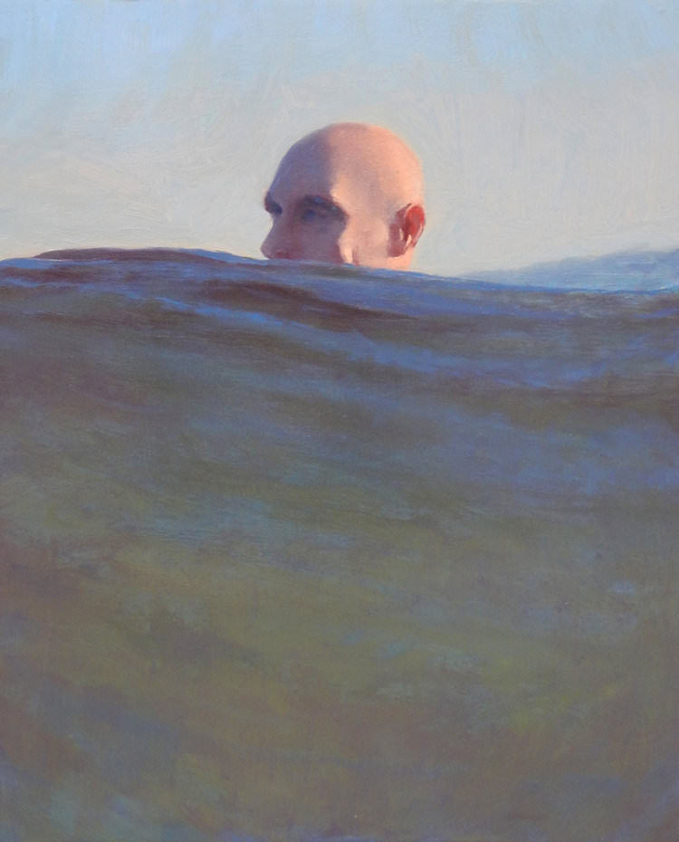 Nuotatori dipinti