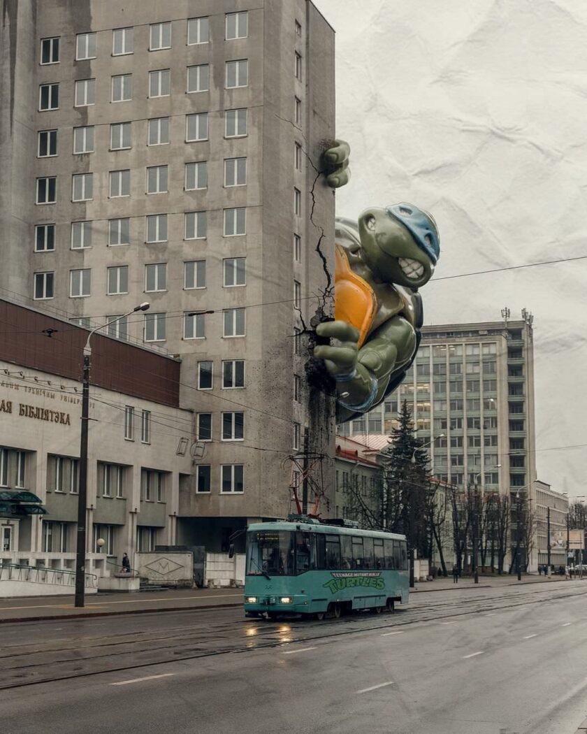 Architettura Sovietica a Minsk