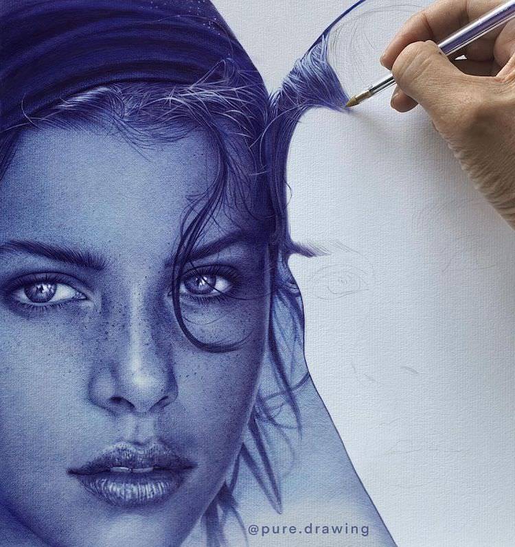 pure drawing