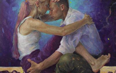 I dipinti ad olio contemporanei di Tania Rivilis