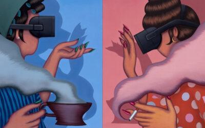 Il neo surrealismo pittorico di Julie Curtiss