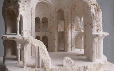 L'Architettura scolpita nel marmo da Matthew Simmonds