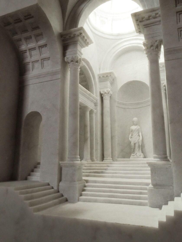 Architettura scolpita nel marmo