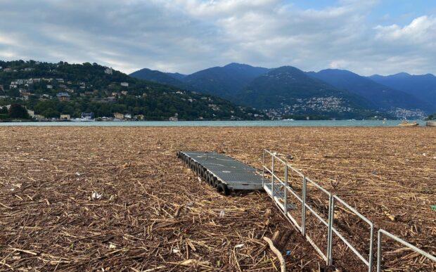 Il lago di legno, la trasformazione del lago di Como