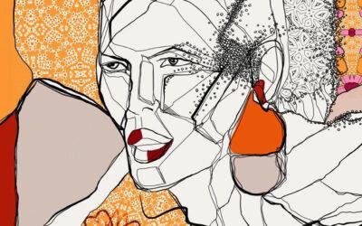 Dalla musica alla moda. Le illustrazioni di Melody Hesaraky