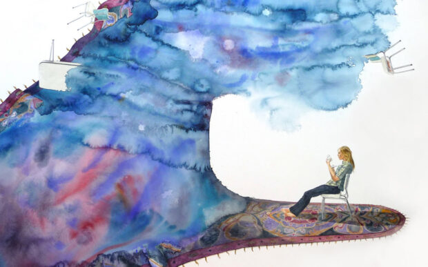 Gli acquerelli ispirati alla natura di Carmel Seymour
