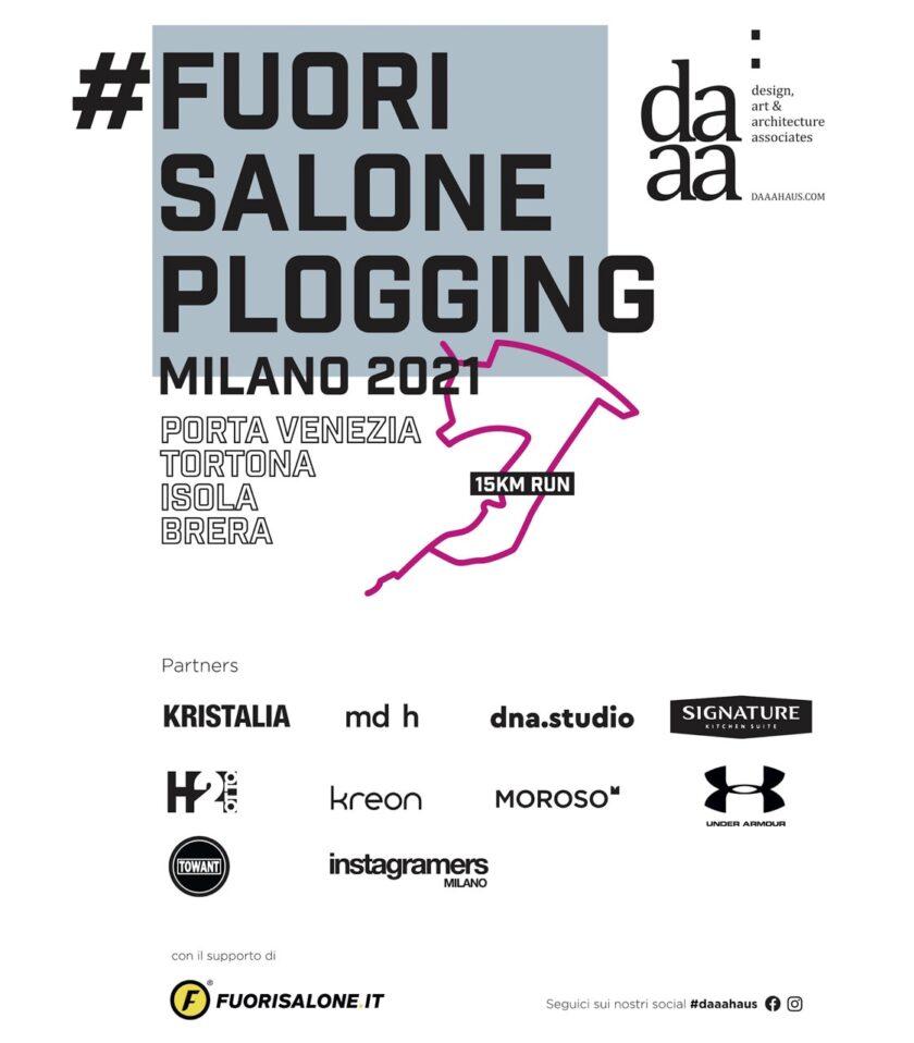 Plogging Fuorisalone 2021