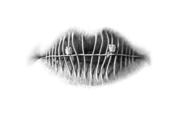 Le bocche surreali di Christo Dagorov